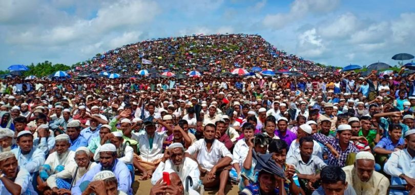 Ruling party workers whipping up anti-Rohingya passion